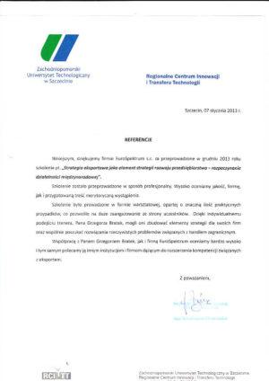 ZUT szkolenia eksportowe opinia1